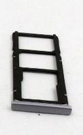 Лоток для сим карты и карты памяти для Xiaomi Redmi Note 5A, черный