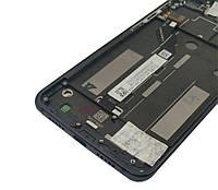 Дисплей (экран) для Xiaomi Mi8 Lite/Mi8X + тачскрин, черный, с передней панелью