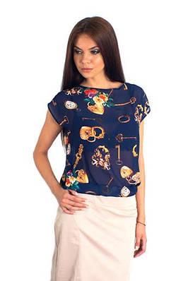 Интригующая шифоновая блуза. Блуза Майами
