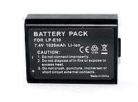 Аккумулятор для фотоаппаратов CANON 1100D, 1200D, 1300D - LP-E10 - аналог на 1020 ма