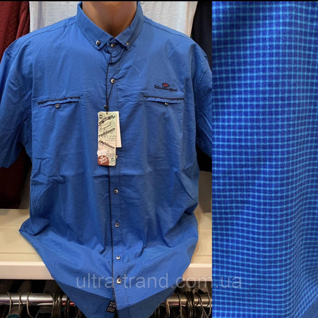 Мужские качественные хлопковые турецкие рубашки с карманами