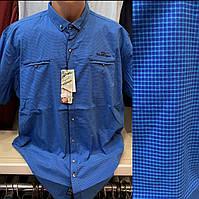 Мужские качественные хлопковые турецкие рубашки с карманами, фото 1