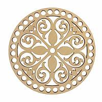 Круглое донышко для вязанных корзин Shasheltoys (100103)