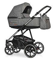 Детская универсальная коляска 2 в 1 Riko Swift Premium (12 Titanium), фото 1
