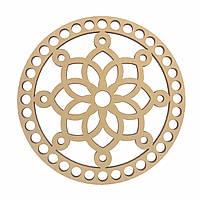 Круглое донышко для вязанных корзин Shasheltoys (100106) 12 см