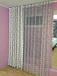 Пошиття штор на тасьмі, 50 грн за погонний метр полотна, фото 2