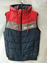 Жилетка мужская демисезонная модная стильная REEBOK размер 48-56, купить оптом со склада 7км Одесса