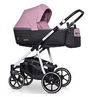 Детская коляска универсальная 2 в 1 Riko Swift Natural 01 Scarlet