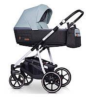 Детская коляска универсальная 2 в 1 Riko Swift Natural 03 Basil