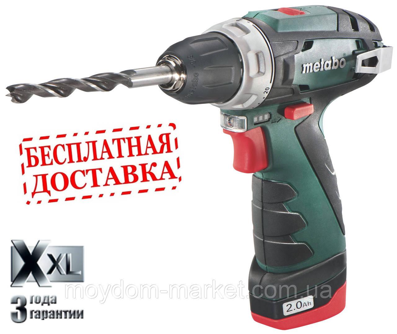 Дриль-шурупокр. PowerMaxx BS Basic (10.8 В; 2xLi-Power 2.0 Аг; 34Nm)/ 600080500