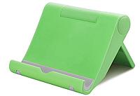 Holder Универсальный для смартфона планшета Держатель складной регулируемый для телефона настольный Салатовый