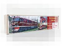 Сборная модель пассажирского тепловоза ТЭП60  (2ТЭП60) 1/87, колея 16.5мм, фото 1