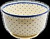 Большая керамическая миска / салатник 27 Arctic stars