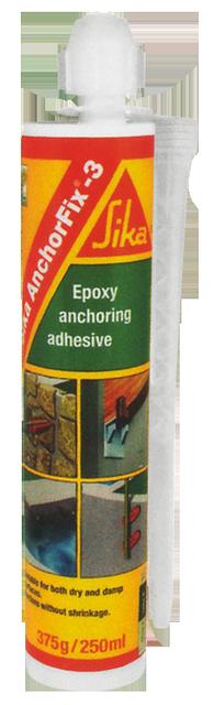 Клей для анкеров. эпоксид. высокопрочн.,тиксотропн., двухкомпонентн.Sika AnchorFix-3 (AB)