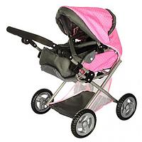 Коляска для куклы Melogo 65826 Pink, фото 1