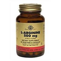 Витамины Солгар L-Аргинин 500 мг капсулы №50