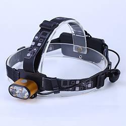 Акумуляторний ліхтар налобний HEADLAMP-BL-K28-T6-80000W ліхтарик