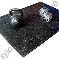 Резиновый коврик для гантелей штанги 7мм р.87 х 120см