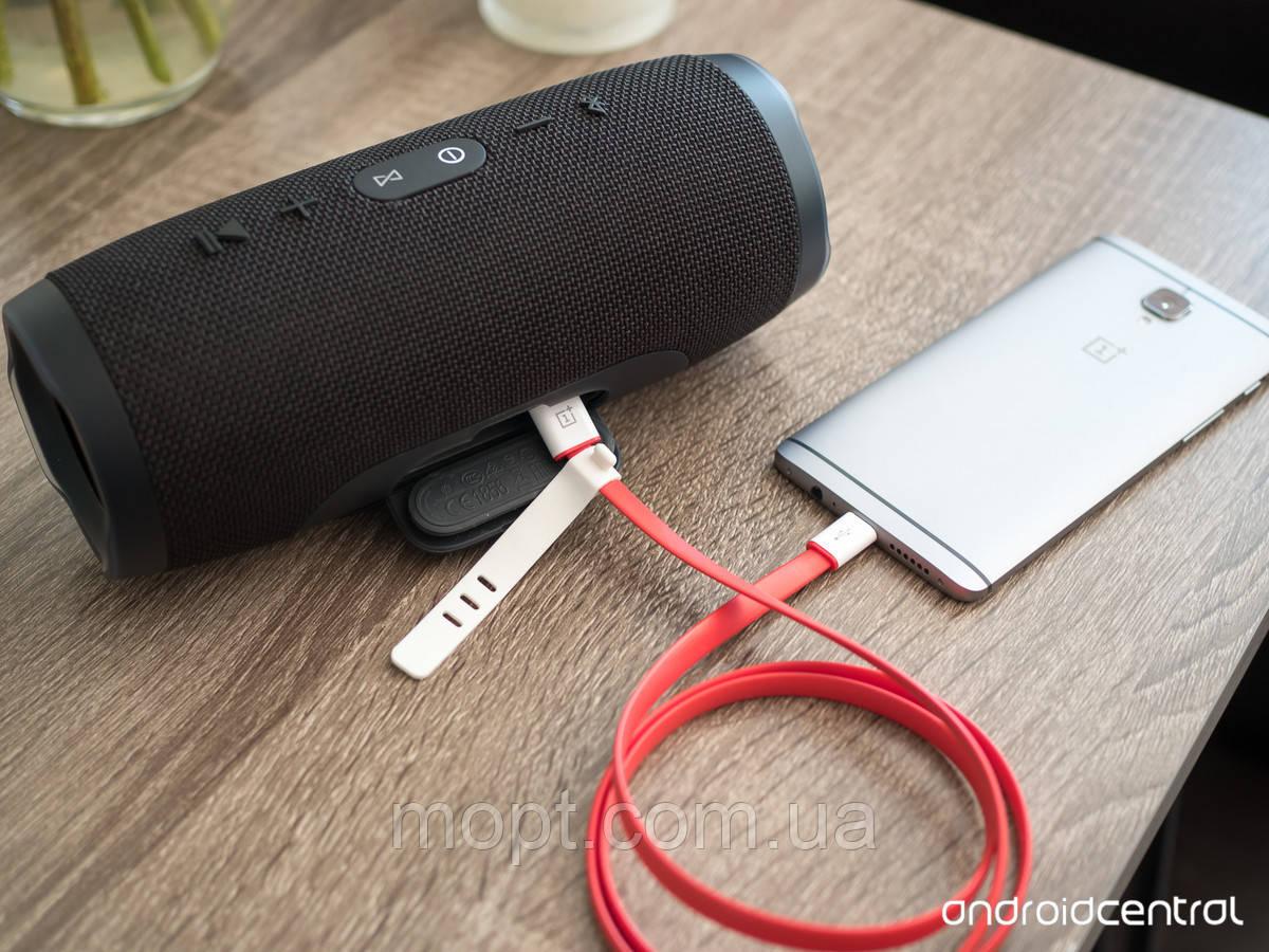 Беспроводная JBL Charge 3 Black черная Портативная блютуз колонка + Встроенный Повербанк USB SDcard +ПОДАРОК