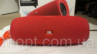 JBL Charge 3 Red Красный портативная колонка акустика Блютуз + ПОДАРОК