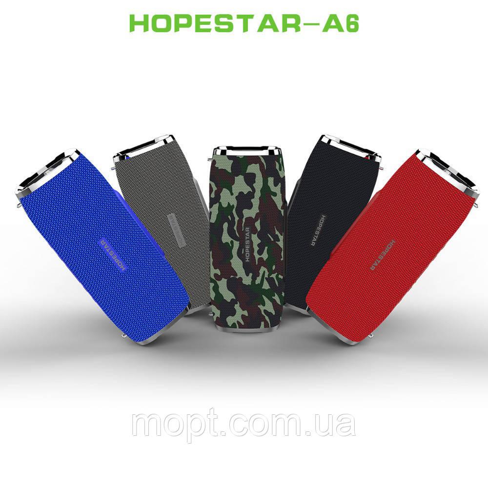 Портативная переносная колонка Hopestar A6 Bluetoot акустика + ПОДАРОК