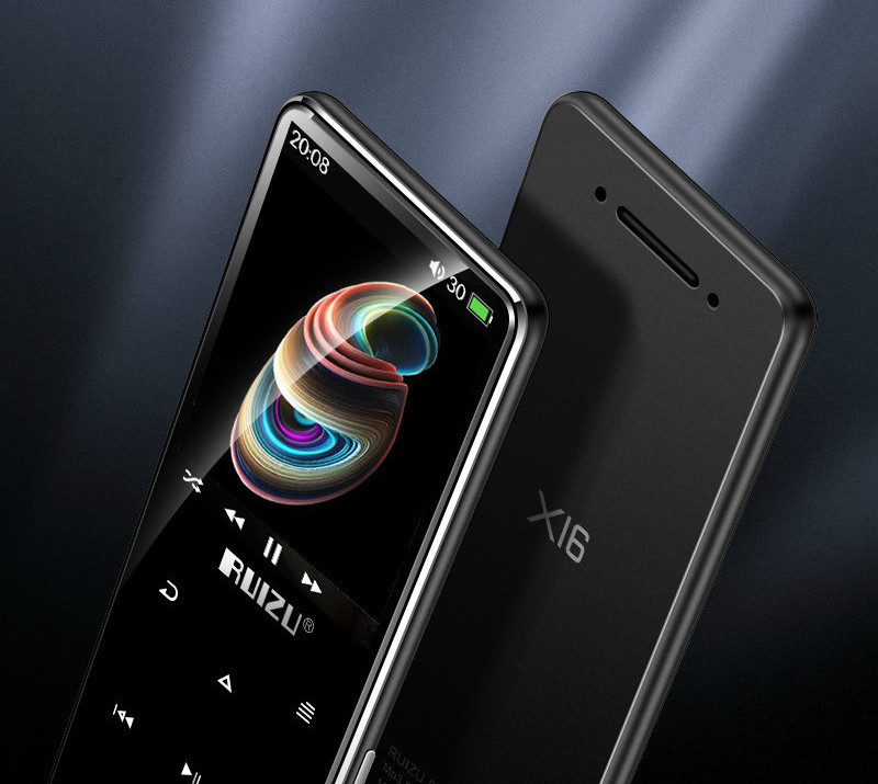 MP3 Плеер RuiZu X16 16Gb Bluetooth Original Черный