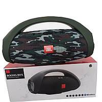 Портативная беспроводная акустическая система JBL BoomBox Bluetooth FM Встроенный Повербанк + ПОДАРОК