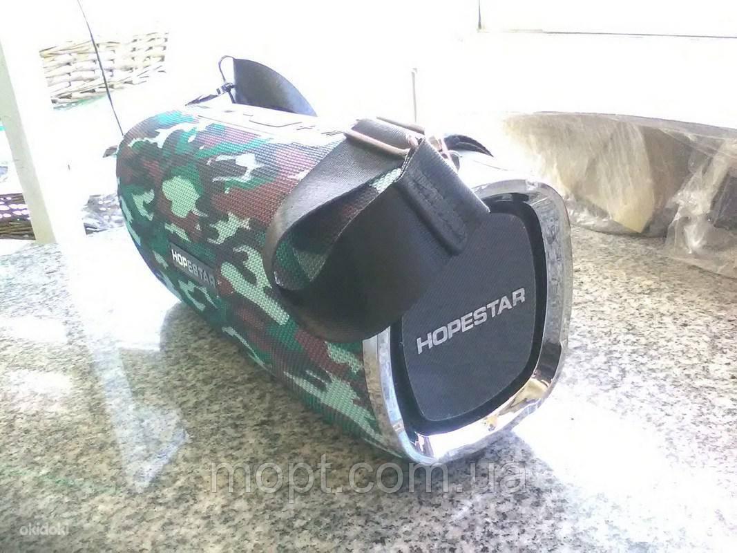 Портативная переносная колонка Hopestar A6 BLACK Bluetooth Блютуз акустика беспроводная мобильная