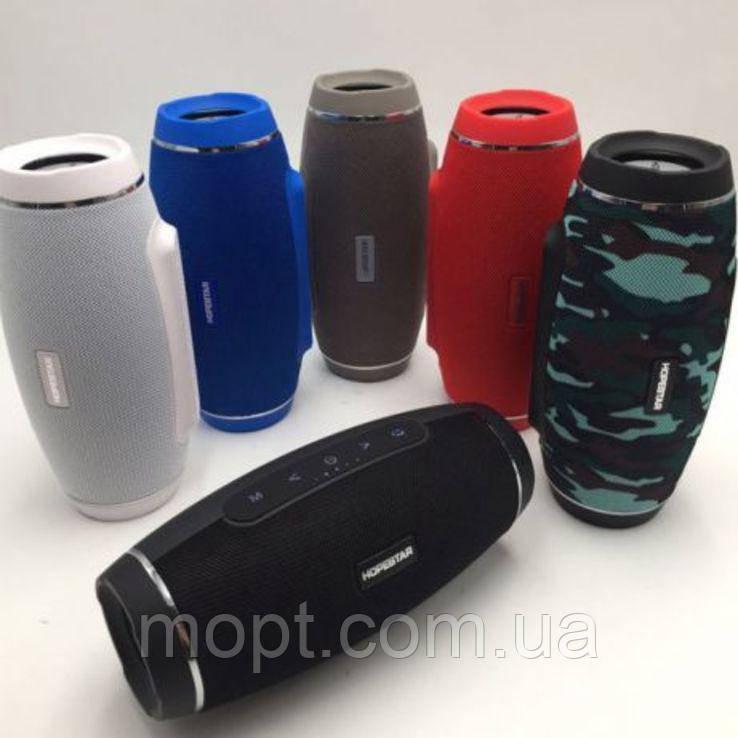 Портативная переносная колонка Hopestar H20 Bluetooth акустика + ПОДАРОК