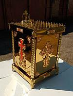 Панахидный стол на 90 свечей из булата 70х70х90см