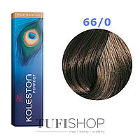 Краска для волос Wella Koleston Perfect № 66/0 (темый блонд интенсивный) - pure natura