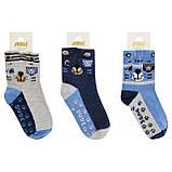 Носки детские для мальчика с тормозами ТМ Katamino р.1-2 года (18-21см) ост. 2 шт, фото 3