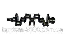 Вал коленчатый Д-245  (7 отв., шлицевой) без вкладышей (ММЗ) 245-1005015