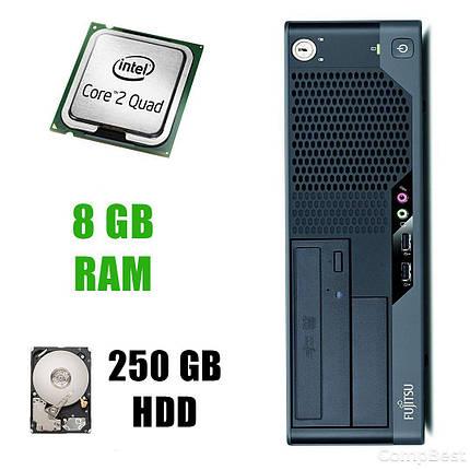 Fujitsu-Siemens ESPRIMO E7935 / Intel Core2Quad Q6600 (4 ядра по 2.4GHz) / 8 GB DDR2 / 250 GB HDD, фото 2