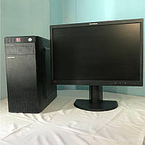 "Logic power / Intel® Core™ i3-2120 (2(4)ядра по 3.3GHz) / 4GB DDR3 / 500GB HDD / 350W /HDMI, VGA, USB + Монитор LT2252pwA / 22"" (1680x1050) 16:10 TN, фото 3"