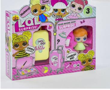 Кукла ВВ 39-3 (аналог LOL) , 2 цвета