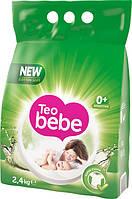 Дитячий пральний порошок Teo Bebe Алое (2,4 кг)