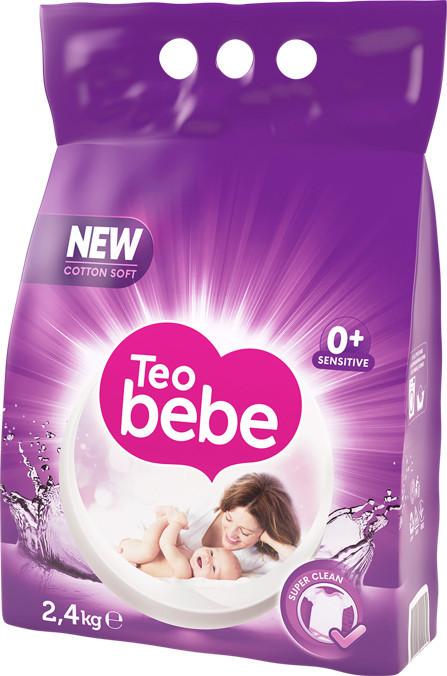 Детский стиральный порошок Teo Bebe Лаванда (2,4кг)