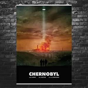 """Постер """"Чернобыль"""", Chernobyl, сериал HBO, альтернативный постер 1. Размер 60x43см (A2). Глянцевая бумага"""