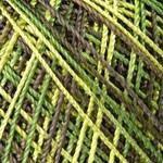YarnArt Tulip №D477 салатово-зелено-коричневый меланж