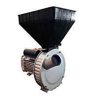 Зернодробилка «ГАЗДА М80» молотковая (зерно + початки кукурузы) 2,5 кВт