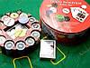 Покерный набор (2 колоды карт +240 фишек+сукно)