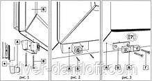 Детский замок-блокиратор BSL для пластиковых окон (коричневый), фото 3