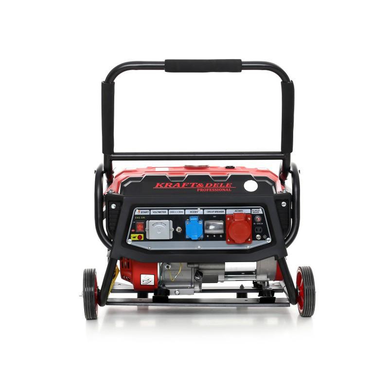 Генератор бензиновый Kraft&Dele 3000W / 230-380V / 7 KM