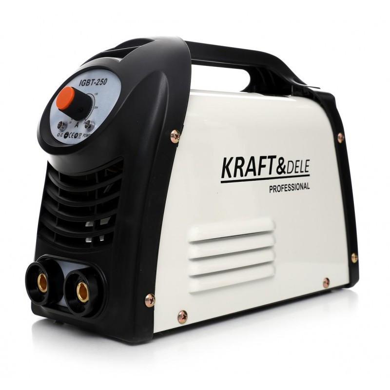 Сварочный аппарат инверторный Kraft&Dele ММА 250А 230В