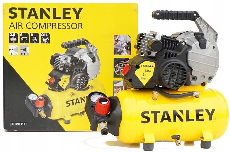 Компрессор безмасляный STANLEY 6L model HY 227/8/6E
