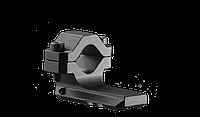 Планка Picatinny FAB для крепления на ствол, одинарная, алюминиевая, черная (BSR1)