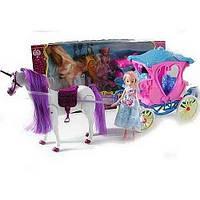 Карета с лошадью и куклой 60386
