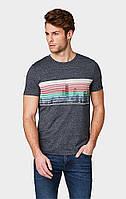 Мужская серая футболка TOM TAILOR Denim TT 10088520012 13684