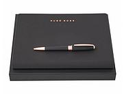 Набор Essential Rosegold блокнот А6 и ручка Hugo Boss